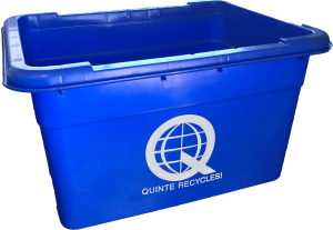 Standard Size Blue Box, Aluminum, aluminum can, aluminum foil, ammunition, battery, recycling, Belleville, Bloomfield, blue box, blue box program, bullets, coffee, featured, Frankford, hunting, litter, Madoc, Marmora, municipal, Ontario, Picton, pie plate, Prince Edward County, Quinte, Quinte Waste Solutions, Quinte West, Rawdon, recycle, recycling, reduce, repair, repair café, repurposing, Rossmore, scavenging, sorting, Stirling, taxes, Trenton, Tweed, Tyendinaga, video, waste diversion, waste reduction week, wellington, youtube, facebook, Instagram, twitter, linkedin, black plastic, backyard composting, reuse, refuse